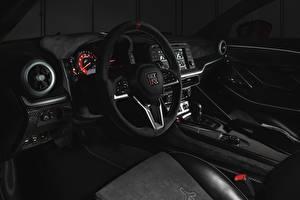 Фото Nissan Салоны Рулевое колесо R35, Nismo, ItalDesign, 2020, V6, GT-R50 Автомобили