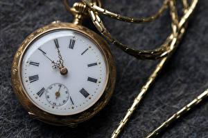 Фото Часы Карманные часы Вблизи Циферблат
