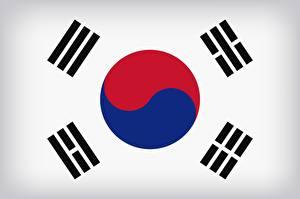 Картинка Южная Корея Флага