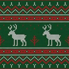 Картинки Текстура Олени Рождество Свитере