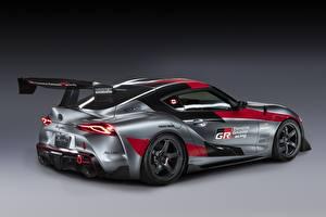 Фотография Тойота Серая Купе GR Supra Track Concept, 2020 авто