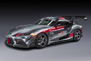 Фото Тойота Серый Купе GR Supra Track Concept, 2020