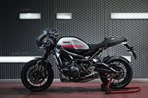 Картинка Yamaha Тюнинг Сбоку XSR90 Abarth