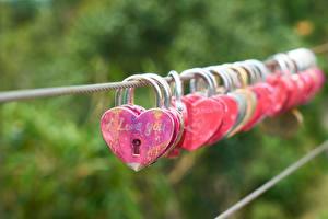 Фотографии Сердца Ключом Боке Инглийские Слова i love you