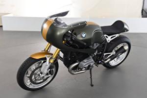 Обои BMW - Мотоциклы 2016-20 3AC Schnitzer BMW R nineT Full Race