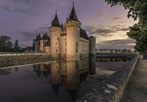 Фото Замки Франция Sully-sur-Loire Города