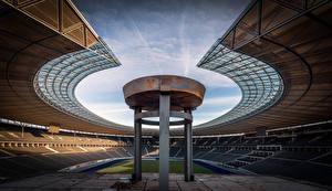 Фотография Германия Берлин Стадион Olympiastadion город