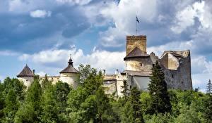 Фото Польша Замки Крепость Castle In Niedzica (Dunajec) город