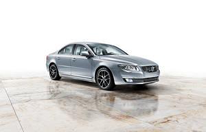 Фотографии Volvo Серебряная Металлик S80 Worldwide Автомобили
