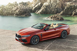 Фотографии BMW Кабриолет Красные 2019 M8 Competition Cabrio Worldwide авто