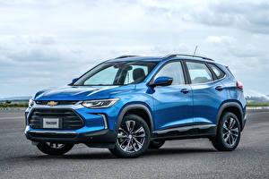 Фото Chevrolet Голубых Металлик 2020 Tracker Premier