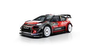 Фото Citroen Тюнинг Белый фон C3 WRC машины