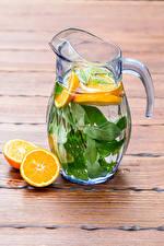 Обои Напиток Апельсин Лимонад Доски Кувшин