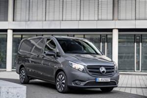 Обои Мерседес бенц Минивэн Серый 2020 Vito Panel Van Worldwide авто