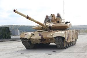 Картинка Т-90 Танки Маскировка T-90M военные
