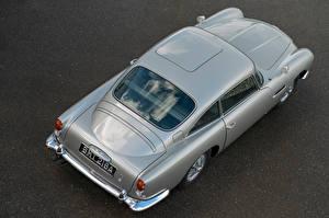 Обои Aston Martin Сверху Серый Металлик DB5 Goldfinger Continuation, 2020 Автомобили картинки
