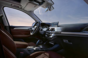 Фотографии BMW Салоны Кроссовер Рулевое колесо iX3, G08, Worldwide, 2020 авто