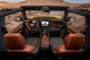 Обои для рабочего стола Форд Салоны Внедорожник Bronco 2, Door Preproduction, 2020 Автомобили