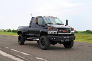 Фото Дженерал моторс Черный Металлик Пикап кузов C4500 TopKick Ironhide, 2007