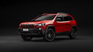 Фотография Jeep Красная Внедорожник Металлик Cherokee, Trailhawk, 2019 машина