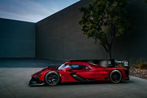 Фотографии Мазда Формула 1 Стайлинг Красная Сбоку 2017 RT24-P Спорт