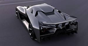 Фотографии Nissan Сзади Металлик Черный 2020, Vision Gran Turismo