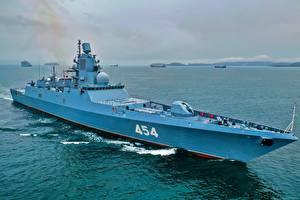Фотография Корабли Российские Frigate, 22350, Admiral Gorshkov Армия