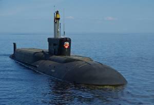 Фотография Подводные лодки Российские 955a Borei-A, К-551, Vladimir Monomakh военные