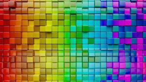 Фото Текстура Кубик Разноцветные
