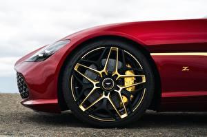 Обои Aston Martin Колесо Красные Zagato 2020 V12 Twin-Turbo DBS GT 760 машина