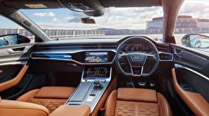 Картинки Audi Салоны Рулевое колесо RS 7 Sportback AU-spec, 2020