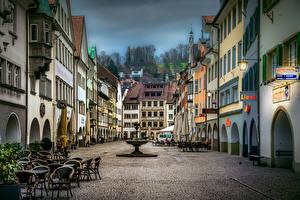 Фотография Австрия Здания Улице Feldkirch