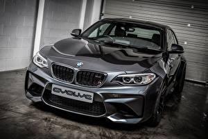 Обои BMW Серый Металлик Купе 2-Series F87 Автомобили