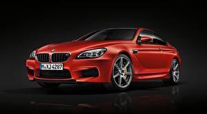 Фотография BMW Красный Металлик Купе M6 Coupe, Competition Package, 2015 Автомобили