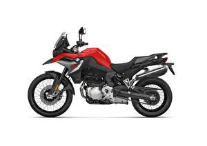 Картинка BMW - Мотоциклы Сбоку Белом фоне F 850 GS, 2020