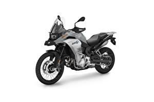 Фотографии BMW - Мотоциклы Белый фон Сбоку F 850 GS Adventure, 2020 Мотоциклы