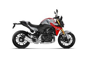 Фотографии БМВ Сбоку Белом фоне F 900 R, 2020 мотоцикл