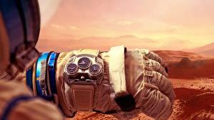 Картинка Часы Наручные часы Марс Перчатки Konstantin Chaykin, Mars Conqueror