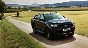 Фото Ford Дороги Пикап кузов Черные Металлик Ranger, Limited Black Edition