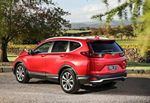 Картинка Honda Кроссовер Красная Металлик CR-V VTi LX AWD AU-spec, 2020