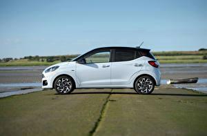 Фотография Hyundai Белый Металлик Сбоку i10 N Line UK-spec, 2020 авто