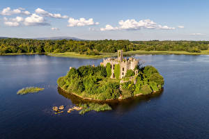 Фотография Ирландия Замки Озеро Остров Mac Dermott's Castle, Lough Key