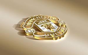 Фотография Логотип эмблема Футбол Manchester United, English Club