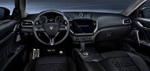Картинка Мазерати Салоны Рулевое колесо Ghibli GranSport Hybrid, M157, 2020