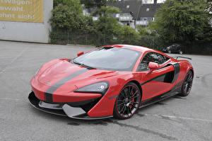 Фотография McLaren Красный Металлик 2017-20 Manhart McLaren 570S машины