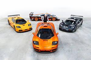 Фотография McLaren Тюнинг Мужчины Оранжевый F1, Gordon Murray Автомобили