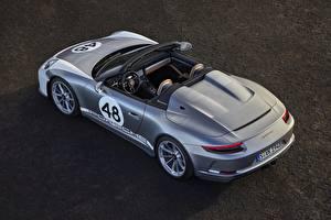 Фотографии Porsche Сверху Родстер Speedster 991 2019 машины