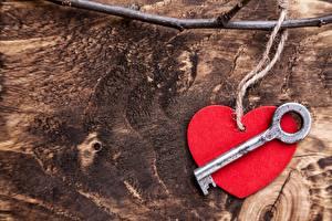 Картинка День святого Валентина Серце Замковый ключ Шаблон поздравительной открытки