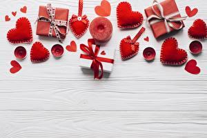 Фотография День всех влюблённых Шаблон поздравительной открытки Сердце Подарок