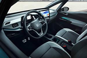 Картинка Volkswagen Салоны Автомобильный руль ID.3 1ST Worldwide, 2020